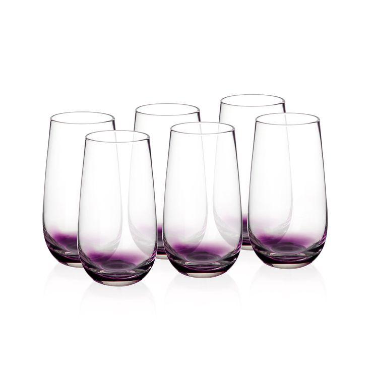 Bernardo Pembe Tabanlı Bardak #drinking #glass #pink #tabledesign