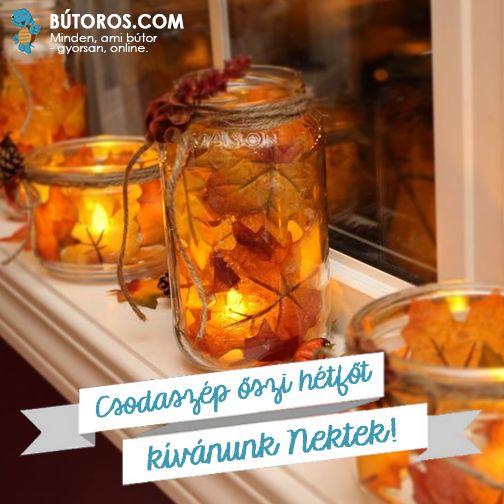 CSODÁLATOS ŐSZI IDŐNK VAN MA!  Legyen mosolygós hétfőtök és tartalmasa hetetek, és élvezzétek az ősz szépségeit! ;-) #boldoghétfő