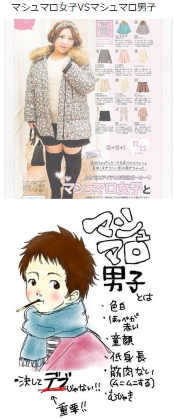 マシュマロ女子VSマシュマロ男子 | @Atsuhiko Takahashi (アットトリップ)  (via http://attrip.jp/121609/ )