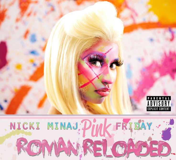 Nicki Minaj: Pink Friday Roman Reloaded ....um, not impressed by the booklet, really.