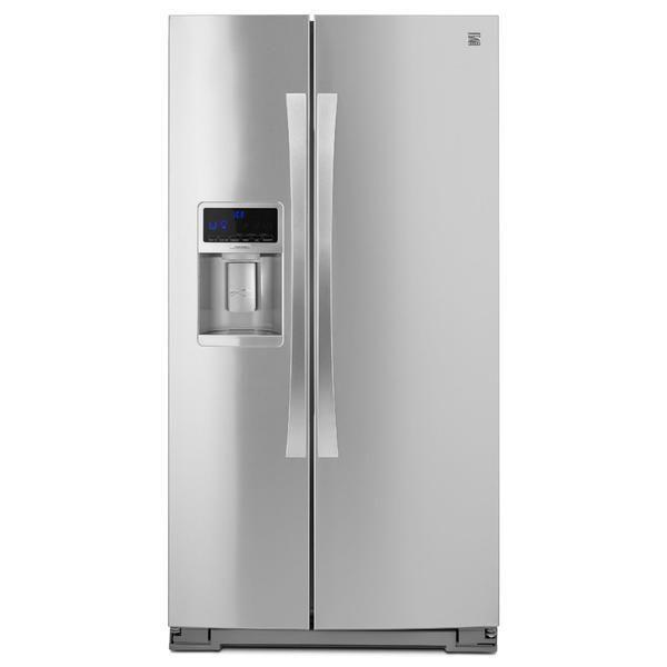 Kenmore Elite 51773 28 cu. ft. Side-by-Side Refrigerator - Stainless Steel
