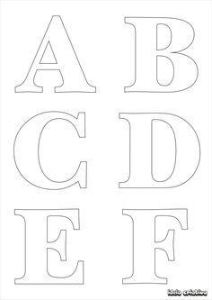 por gi barbosa marcadores alfabetos para imprimir moldes