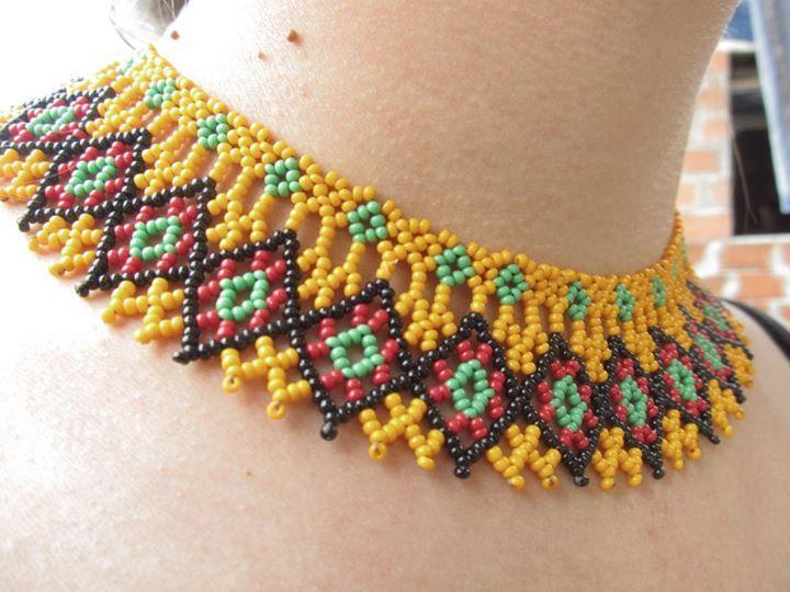 """collar """"okamakuara"""""""