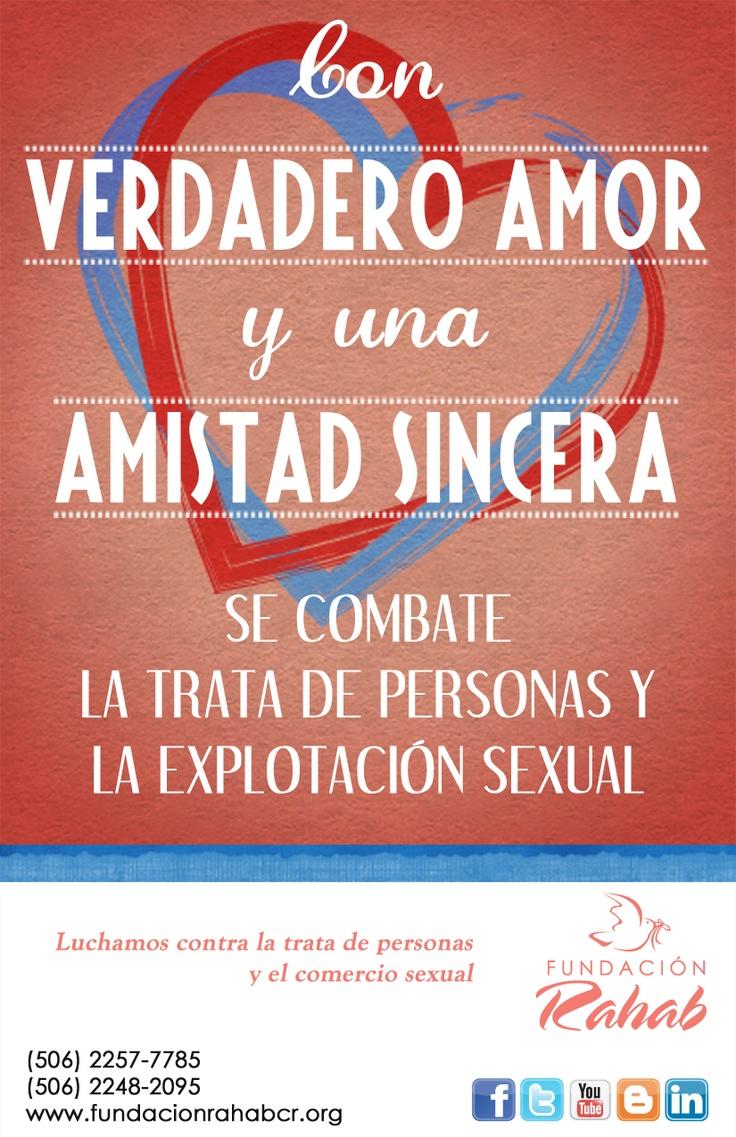 Afiche en celebración del Día del Amor y la Amistad (14 de Febrero) de 2013.