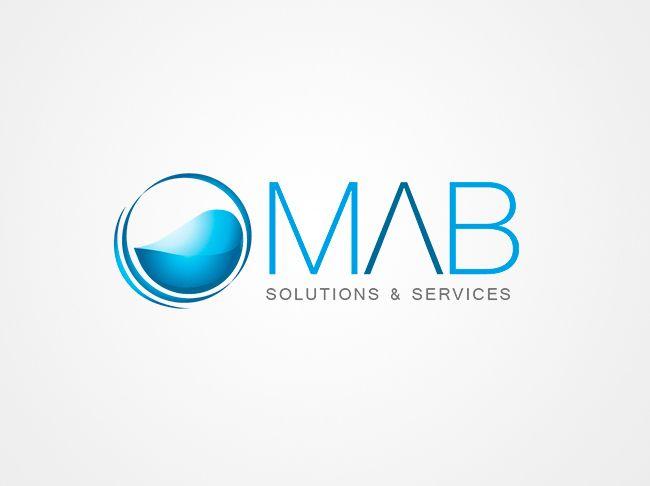 "Diseño Logotipo ""Mab Solutions""."