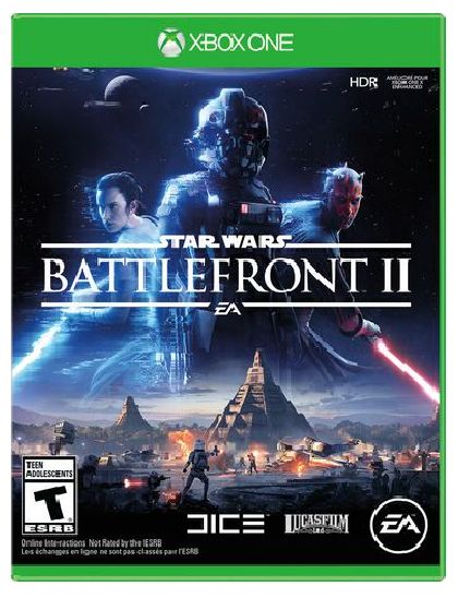 Star Wars battlefront II XBOX ONE 2017 gift  Fast S&H  BUY THIS ON EBAY NOW  BUY THIS ON EBAY NOW  Item specifics  Condition:  Brand New: An item that has never been opened or removed from the manufacturers sealing (if applicable). Item  Platform:  Microsoft Xbox One  Genre:  Shooter  Release Year:  2017  Game Name:  Star Wars: Battlefront Miniatures II  Rating:  T-Teen  Publisher:  Electronic Arts  UPC:  0014633735321  Star Wars battlefront II XBOX ONE 2017 gift  Fast S&H  Product Details…