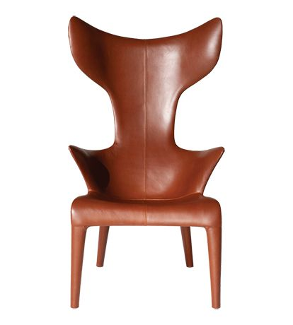 Lou Read Cat Q Leather Brown - Lounge & Armchairs - Living Room - Shop by Room - The Conran Shop UK