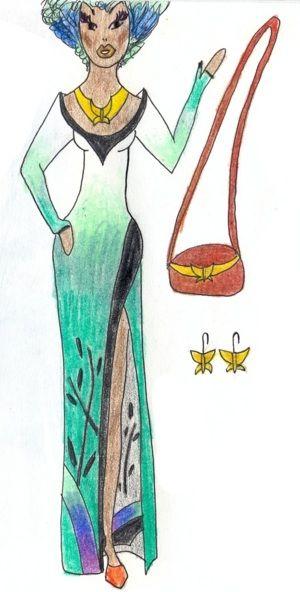 Природа (Nature) Мой эскиз/My sketch #fashion #Style #мода #design #designer #дизайнер #стиль