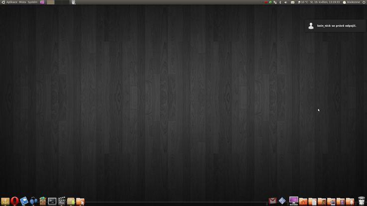 Dark Linux Mint (desktop)