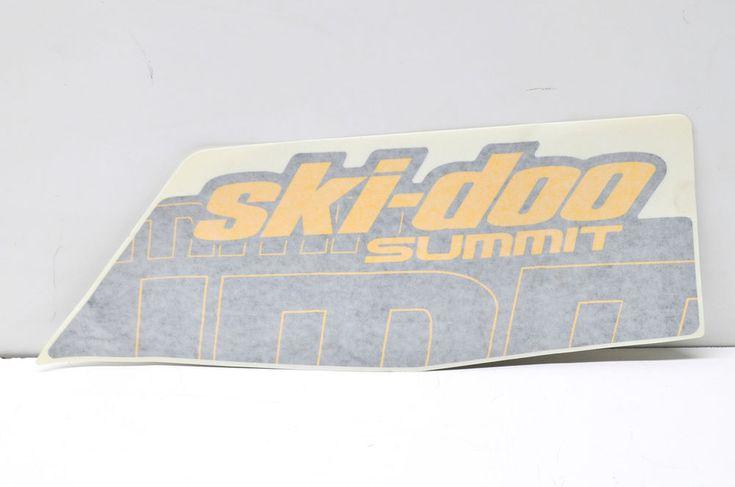 New OEM Ski-Doo Lower Left Summit Decal NOS | eBay Motors, Parts & Accessories, Snowmobile Parts | eBay!
