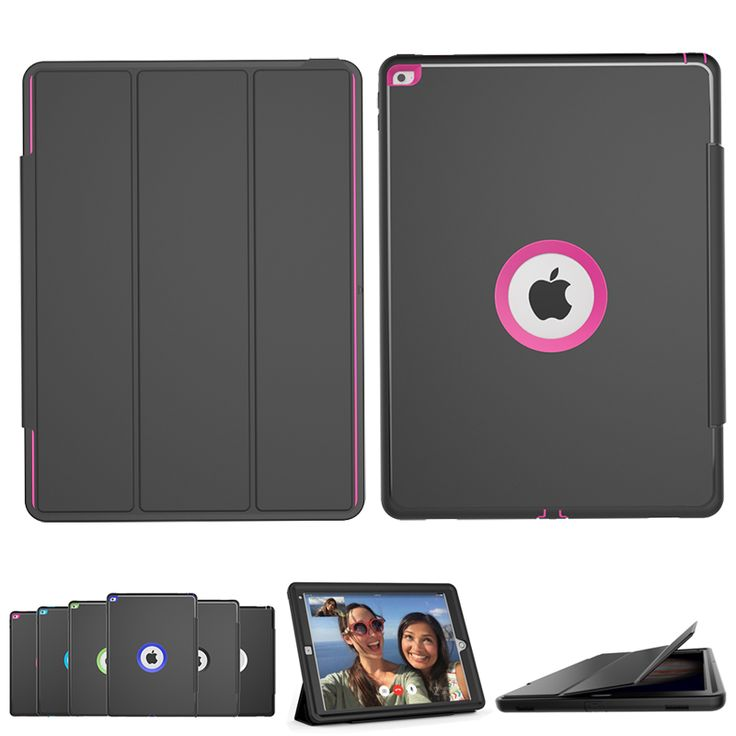 Luxury Stand Smart Magnetic Case for Apple iPad Pro 12.9 inch PU Leather Flip Shockproof Cover With built-in Screen Protector #Affiliate