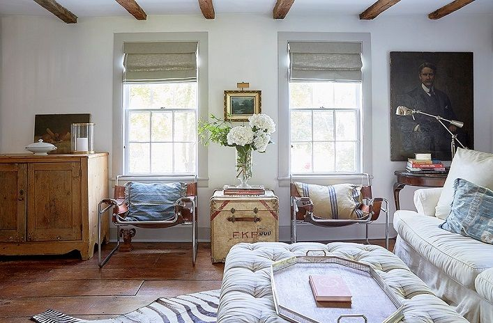 Mix and Chic: A designer's charming and collected historic Long Island home!