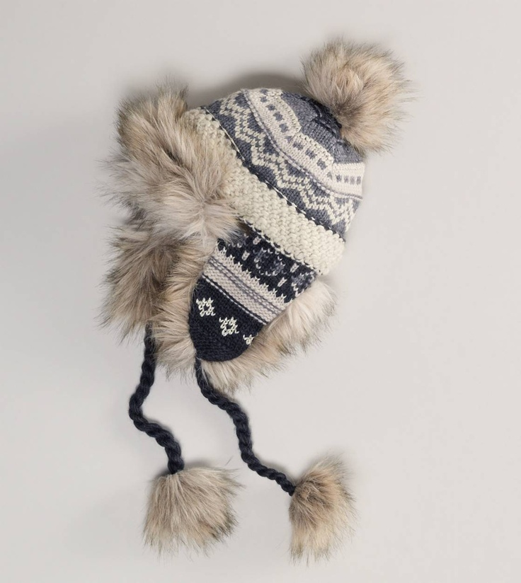 Winter must-have - Fair Isle Trapper Hat from American Eagle $34.50