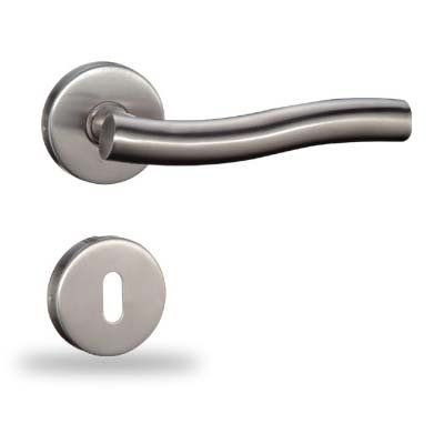 Stainless steel Door Handles / BB Door Fitting / Door Fitting / exclusive Design in solid, made from high quality stainless steel this complete Set for A Solid door.