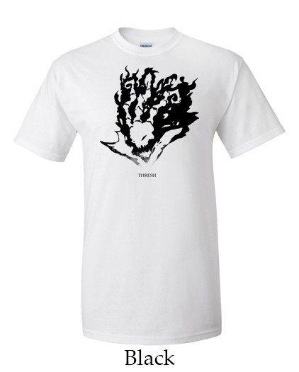 Thresh League of Legends Special Watercolor Design! Get it here: https://www.etsy.com/listing/166289890/thresh-league-of-legends-mens-t-shirt