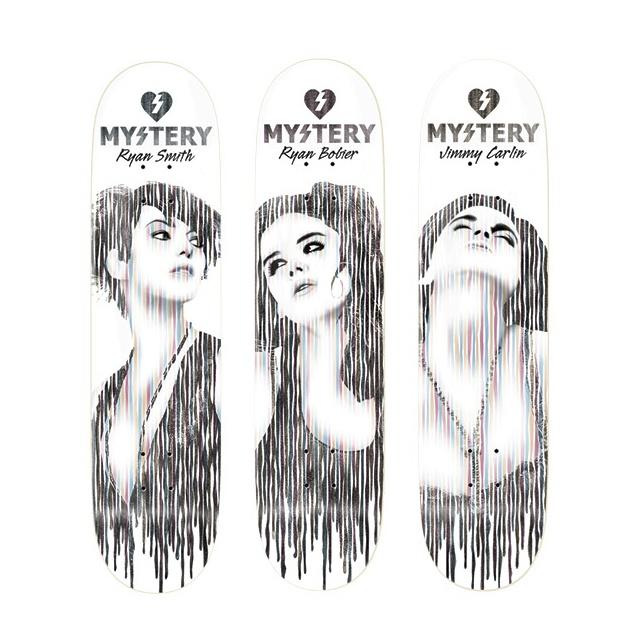 Mystery Skateboards Decks