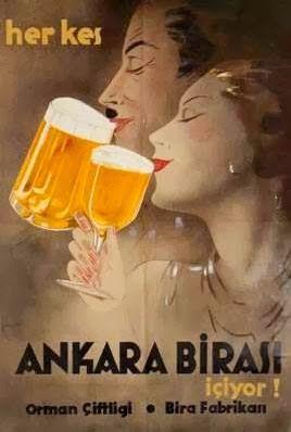 herkes ankara birası içiyor orman çiftliği bira