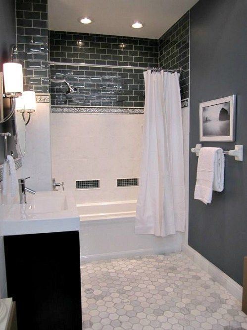25+ best small dark bathroom ideas on pinterest | small bathroom