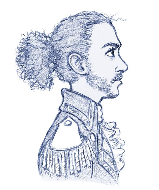 ever yours, Alexander — juanjoltaire: A Lafayette I stress-doodled at...