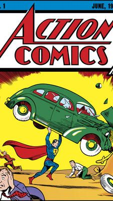 First Superman comic book sells for record-breaking $3.2 million