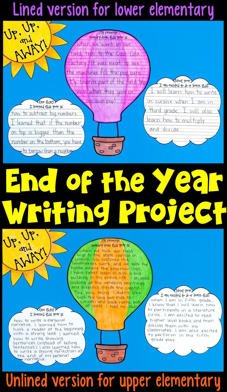end of the year writing prompts Students will enjoy writing about the end of the school year using prompts this  packet is a great way to improve writing through ideas the prompt jar is has 32 .