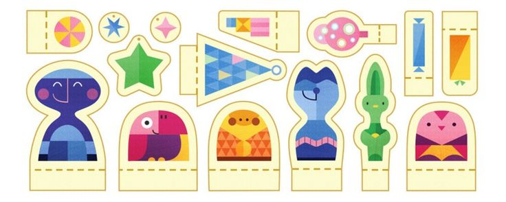 Google holiday doodle day 1