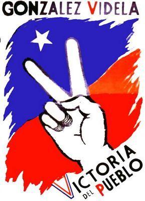 1945. González Videla. Camilo Mori Catálogo patrimonial - Los verdaderos símbolos patrios de Chile