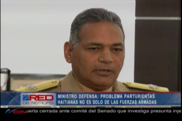 Ministro De Defensa Dice Problema De Parturientas Haitianas No Es Solo De Las Fuerzas Armadas