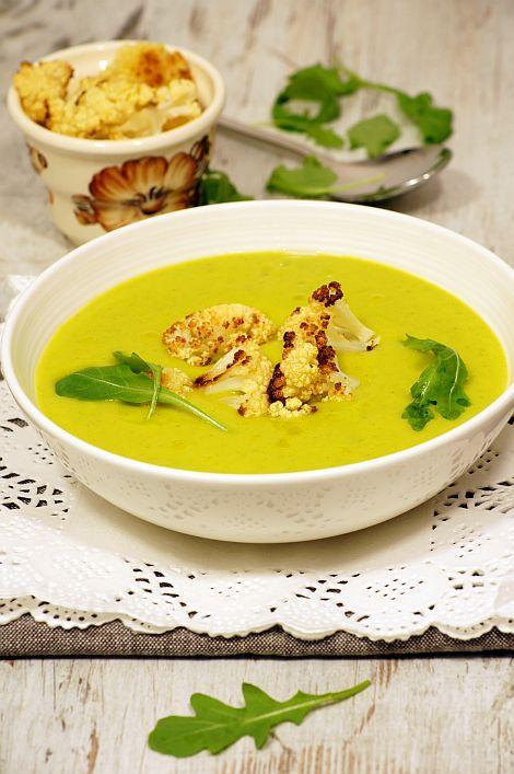 Zupa krem z rukoli i kalafiora #thermomix