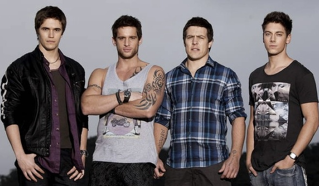 'The Braxton Brothers' the whole Braxton Clan! Kyle, Heath, Brax and Casey…