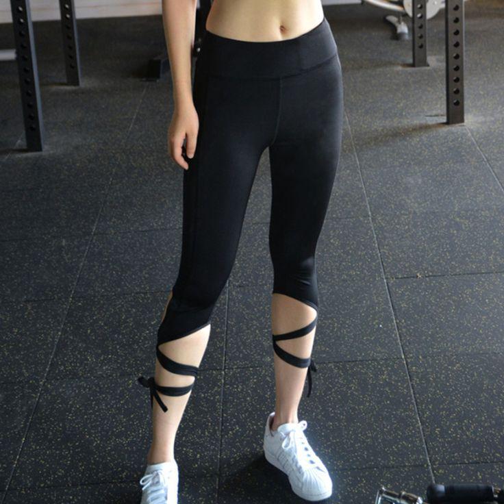 Yoga quần múa ba lê tinh thần bandage workout infinity cử tri đi bầu xà cạp trắng yoga xà cạp mallas mujer deportivas tập thể dục
