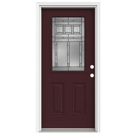 Fiberglass Entry Doors Entry Doors And Lowes On Pinterest