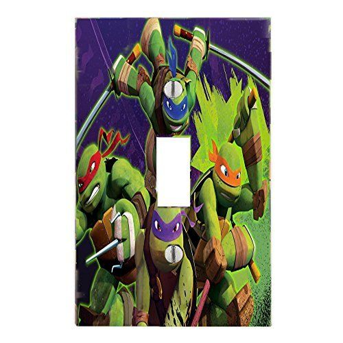 Got You Covered Ninja Turtles Decorative Light Switch Covers Wall Plate for Bedroom or Bathroom  #disney #family #gotyoucovered #sales #amazon