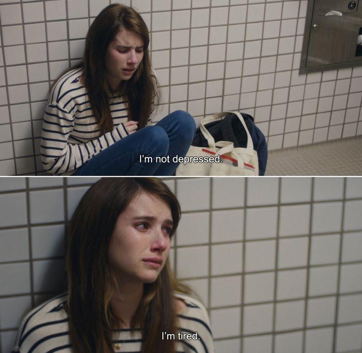 ― Palo Alto (2013)April:I'm not depressed. I'm tired.