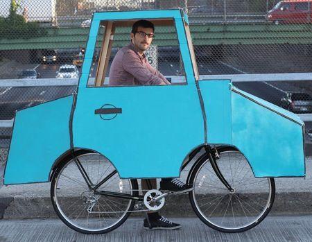 eco-friendly car - haha