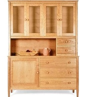 Cabinet, Buffet, Hutch, Sideboard Store. American Made to Order. Natural Cherry, Oak, Maple, Walnut.