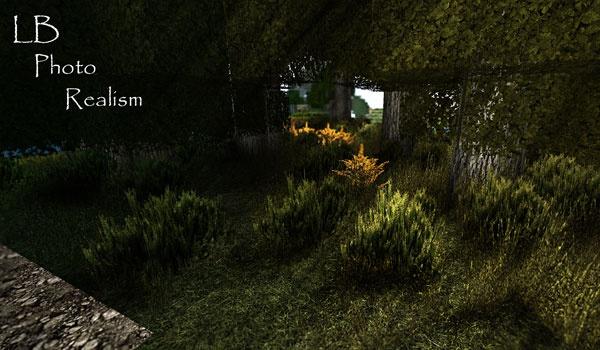 LB Photo Realism Texture Pack para Minecraft 1.3.2