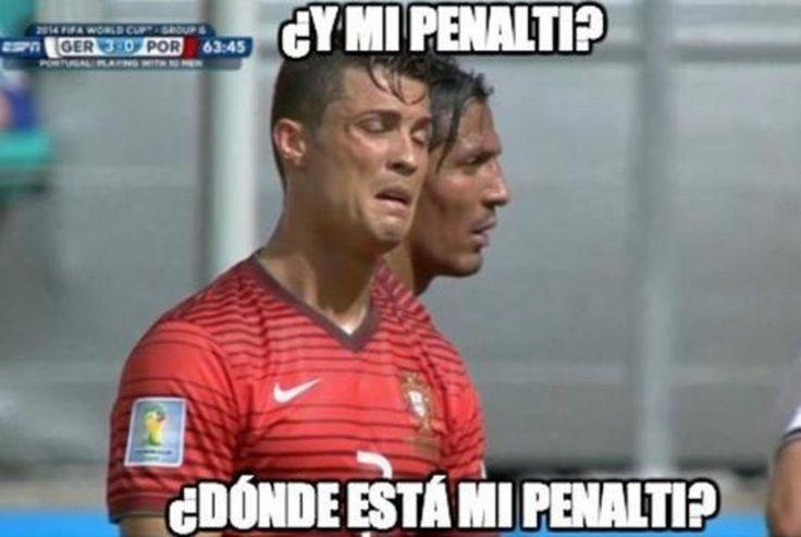 Los memes del Mundial de ensañan con Cristiano Ronaldo y Pepe