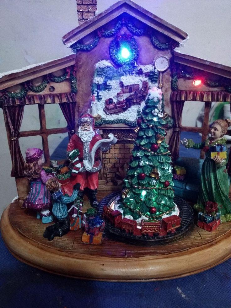 Hermosa casita navideña
