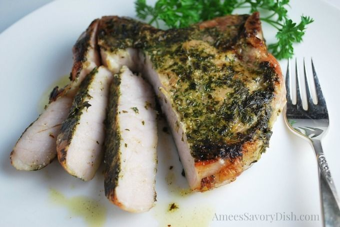 Curious about sous vide cooking?  Check out my post about why this is such a great cooking method and with a tasty pork recipe! Sous Vide Herb Rubbed Pork Chops http://ameessavorydish.com/sous-vide-herb-rubbed-pork-chops/