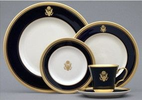 Pickard Palace Royale Crested China with the Great Seal of the United States