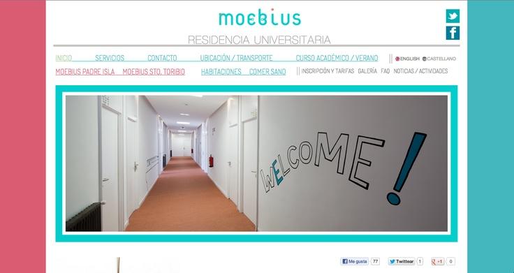 Os presentamos nuestro nuevo trabajo de Programación web para la Residencia Universitaria Moebius podeis visitarlo aqui http://www.rmoebius.com/