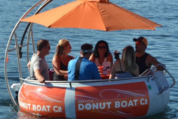 Seattle donut boat co seattle donuts boat rental boat