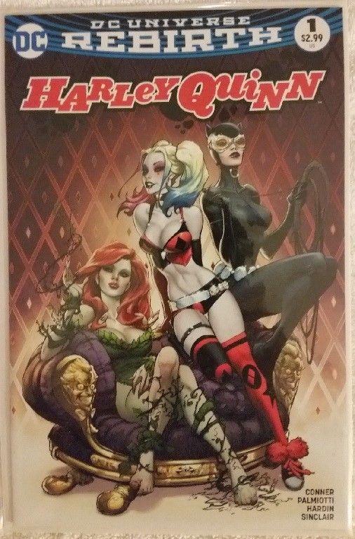 DC Comics HARLEY QUINN REBIRTH #1 Benitez Exclusive Variant Cover CATWOMAN IVY