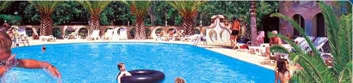 Welkom aan camping le Palais de la Mer **** aan Sainte marie la mer nabij de Middellandse Zee
