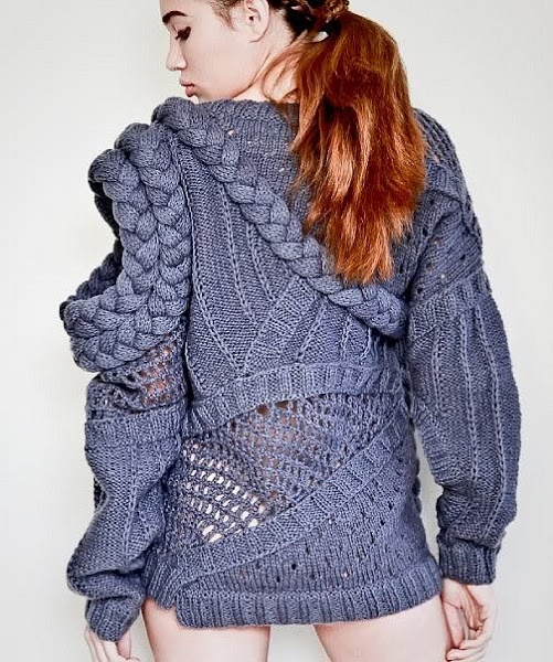 Crochet | Knit | Knitwear | lookbook | editorial | high fashion | tricot