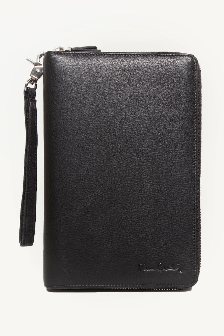 Plain Black Men Wallet