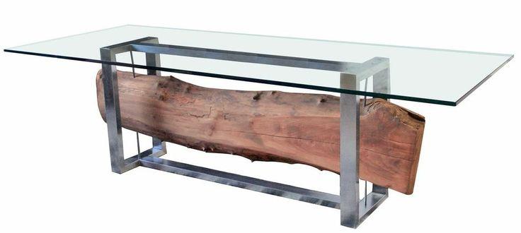 Mesa de centro madera rústica. www.amoble.cl