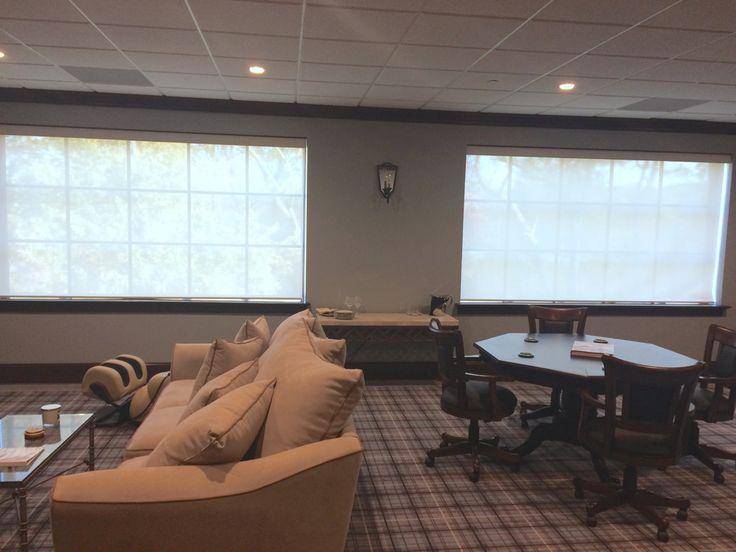 ASAP Blinds | Roller Screen Shades in an Office