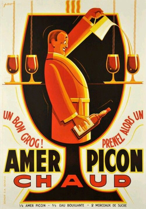 Amer Picon - Vintage advertising